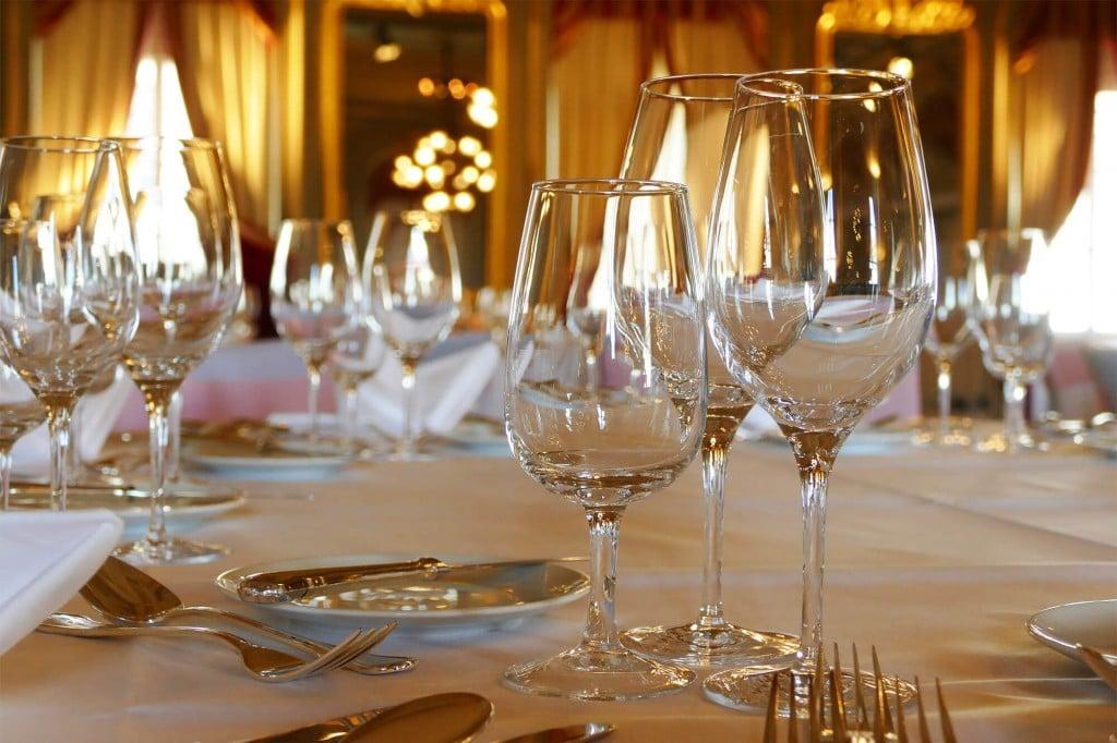 Hochzeitsdeko im Restaurant und Hotel Bären