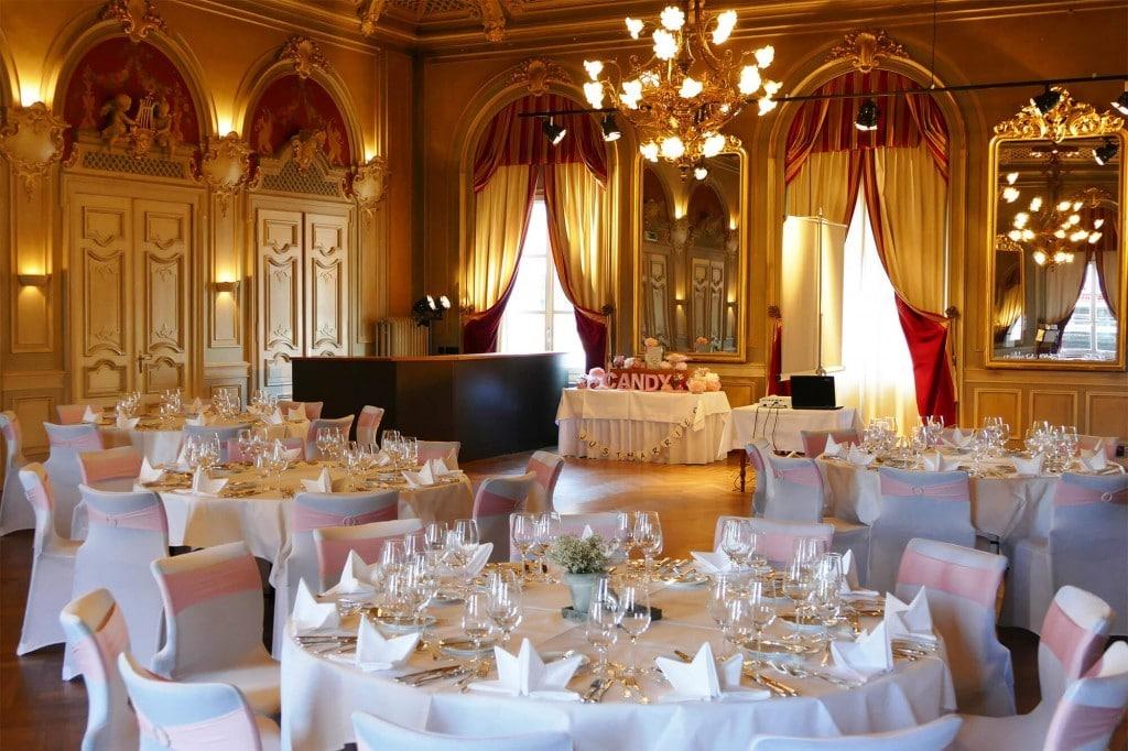 Tischdeko für Hochzeiten und Heirat im Bären