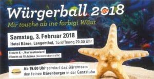 Würgerball 2018 @ Hotel Bären Langenthal