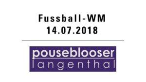 Fussball WM mit den Pouseblooser @ Hotel Bären - Innenhof