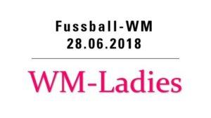 Fussball WM mit den WM-Ladies @ Hotel Bären - Innenhof