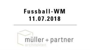 Fussball WM mit Müller+Partner AG @ Hotel Bären - Innenhof