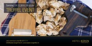 Trüffel Event im Bären @ Hotel Bären Langenthal | Langenthal | Bern | Schweiz