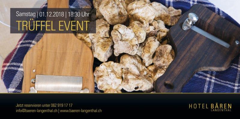Trüffel Event - Restaurant Bären Langenthal