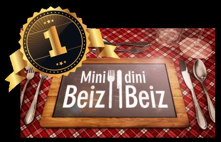 Restaurant Bären gewinnt Mini Beiz Dini Beiz