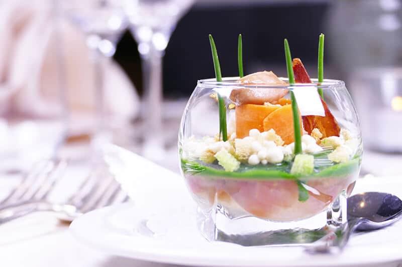 Gourmet Restaurant Vorspeise